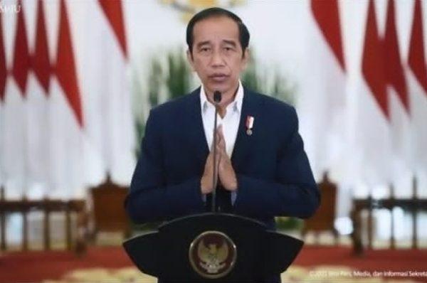 Presiden RI Jokowi hadiri Pelantikan Pengurus DPN PKP secara Virtual