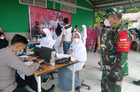 Tim Satgas Covid 19 Kabupaten Simeulue Laksanakan Gerai Vaksinasi Keliling