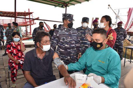 Kisah Hasilohan Paruntungan 4 kali Ditolak Vaksin, Terjawab pada Giat Serbuan Vaksinasi Maritim TNI AL Lantamal I