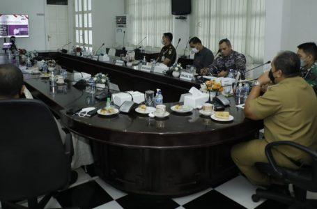 Wakil Bupati Asahan dan Forkopimda Ikuti Arahan Presiden RI