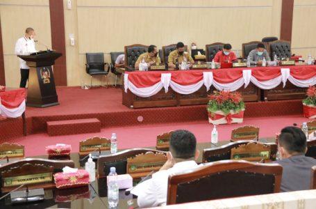Bobby Nasution Hadiri Paripurna Pemandangan umum Fraksi DPRD Medan atas Ranperda Tentang APBD Perubahan 2021